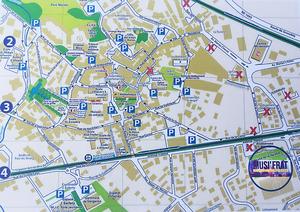 Map MOIRANS MUSIFRAT FESTIVAL