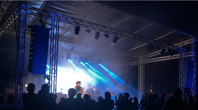 Les lumières du festival